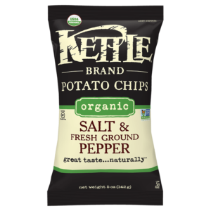 Organic Salt & Fresh Ground Pepper