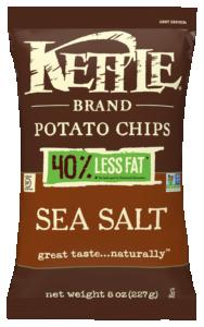 Less Fat Sea Salt