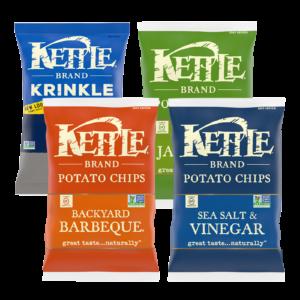 Sea Salt & Vinegar, Krinkle Cut Salt & Pepper, Backyard BBQ and Jalapeno Variety Pack